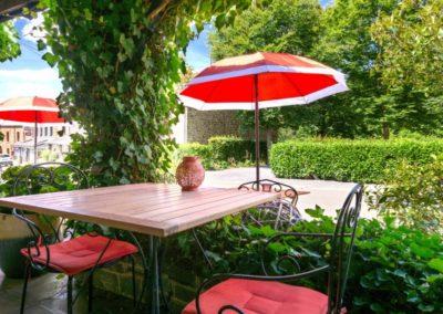 Le Barbouillon Hôtel Restaurant Terrasse à Vencimont